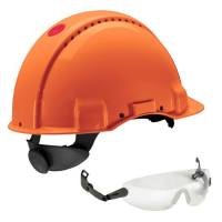 Peltor G3000 Orange, compris lunettes integrees